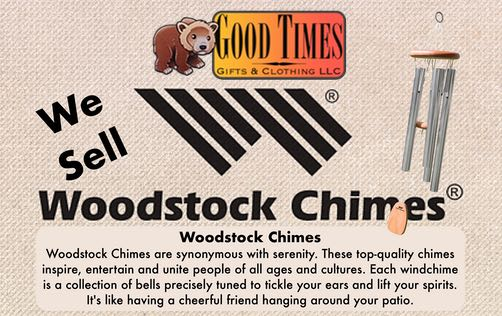 Good Times Gifts & Clothing, LLC in Seeley Lake Montana | We Sell Woodstock Chimes
